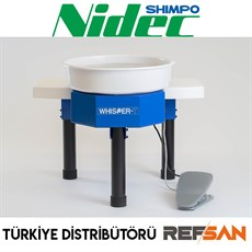 NIDEC (SHIMPO) POTTERY WHEEL WHISPER T