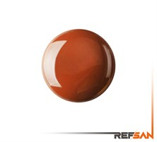 REFSAN COLOURED GLAZE 189-5 GOLD BROWN (1050 °C)