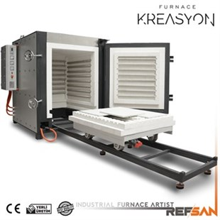 RSA1000 ANNEALING / THERMAL PROCESSING KILN WITH TROLLEY