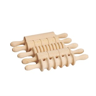 REFSAN DECORATIVE WOODEN ROLLER