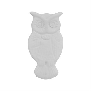 OWL M1 PLAQUE | CERAMIC BISQUE