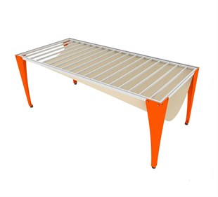 DEMOUNTED CASTING TABLE 150X80 CM