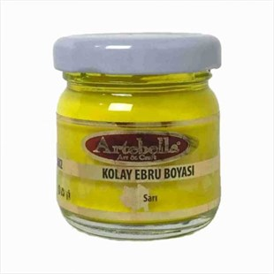 ARTEBELLA EASY MARBLING PAINT 40 CC YELLOW