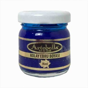 ARTEBELLA EASY MARBLING PAINT 40CC BLUE