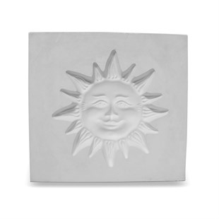 PLASTER MOLD | SUN PLAQUE