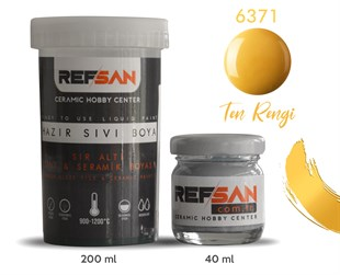 REFSAN READY TO USE CERAMIC PAINT 6371 SKIN COLOR