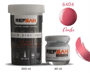 REFSAN READY TO USE CERAMIC PAINT 6404 PINK