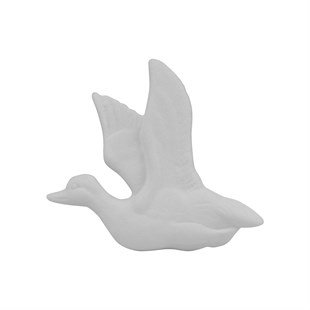 GOOSE PLAQUE | CERAMIC BISQUE