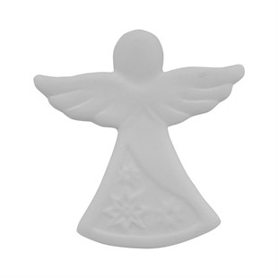 ANGEL M1 PLAQUE | CERAMIC BISQUE