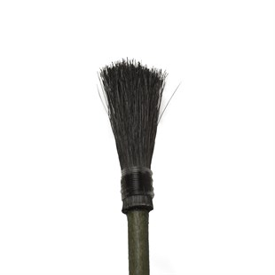 BRUSH MADE WITH HORSE HAIR AND ROSE BRANCH
