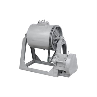 CERAMIC BALL BEARING MILL 300 KG. DRY (DIAMETER:120 CM - LENGTH:120 CM)