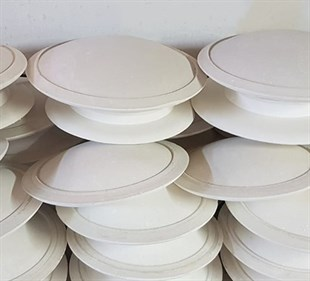 PLASTER MOLD | PLATE