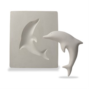 PLASTER MOLD | DOLPHIN